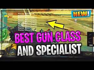 HOW TO LEVEL UP FAST BEST BO4 GUN CLASS & SPECIALIST / BLACK OPS 4 MAX LEVEL