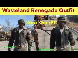 Fallout 4 Xbox One/PC Mods|Wasteland Renegade Outfit