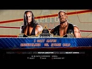 WWE '13: UnderTaker Vs. Stone Cold (I Quit Match)