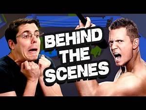 WWE GANG BEASTS BEHIND THE SCENES! (Bonus)