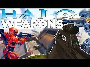 HALO WEAPONS IN CALL OF DUTY!! Black Ops 3 Custom Weapon Mod