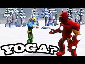 Disney Infinity 2 0: Iron Man and Iron Fist Go On a Vacation- 1080p HD