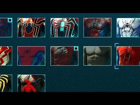 Marvel Spider-Man (2018) PS4 - How to Unlock Suits
