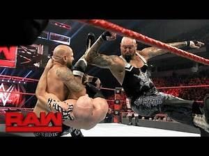 Cesaro & Sheamus vs. Gallows & Anderson - Raw Tag Team Championship Match: Raw, Jan. 16, 2017