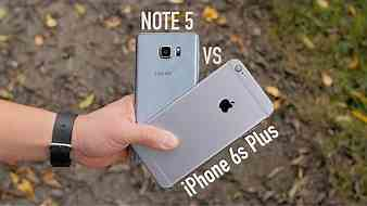 iPhone 6s Plus vs Note 5 Full Comparison! (With Camera Shootout)