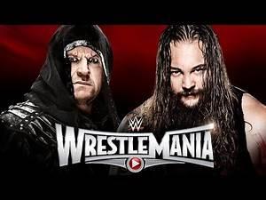 Bray Wyatt vs. The Undertaker - WrestleMania 31 WWE 2K15 Simulation