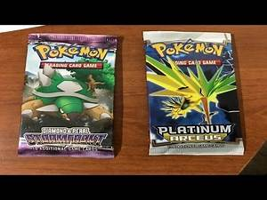 POKEMON CARDS | OPENING A PLATINUM ARCEUS AND DIAMOND AND PEARL STORMFRONT PACK