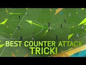 FIFA 16 TUTORIAL - THE BEST COUNTER ATTACK TRICK / DUMMY A PASS TUTORIAL
