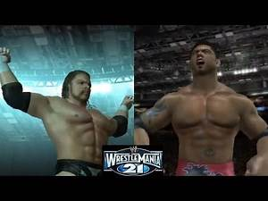 TRIPLE H VS BATISTA [WRESTLEMANIA 21 REMATCH] (WWE DAY OF RECKONING 2)
