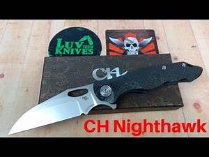 CH Nighthawk CF/Titanium Frame Lock / Includes Disassembly /