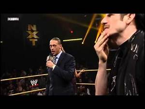 Colin Cassady and Aiden English segment (NXT 1/1/14)