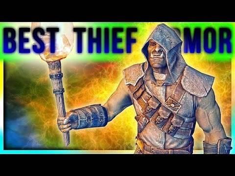 Skyrim Special Edition Best Light Armor Location at LEVEL ONE (Thief Build – Black Guard Unique Set)