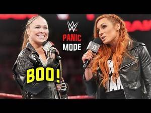 WWE In FULL PANIC MODE After Fans Turn on Ronda Rousey + Ronda's Awful RAW Promo - WWE RAW