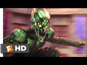 Spider-Man Movie (2002) - Green Goblin Attacks the Festival Scene (5/10) | Movieclips