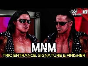MNM with Melina   WWE 2K19 PC Mods
