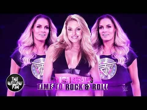 "WWE Trish Stratus Theme Song ""Time to Rock & Roll"" 2018 ᴴᴰ [OFFICIAL THEME]"