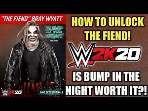 BUMP IN THE NIGHT DLC GAMEPLAY! HOW TO UNLOCK THE FIEND! PLUS IS IT WORTH IT? Noology WWE 2K20!
