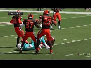 Miami Dolphins @ Cleveland Browns Week Seventeen 2022 FULL Simulation