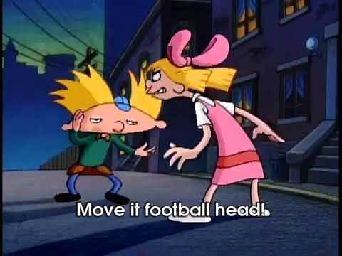 MOVE IT FOOTBALL HEAD!