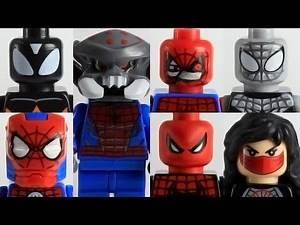 Pt2 Lego Custom Spider-Verse alternate Spider-man