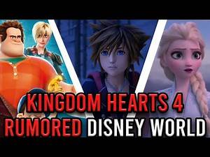 Kingdom Hearts 4 Rumors: Could We See These Disney Worlds In Kingdom Hearts 4?