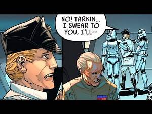 The Imperial Commander that Tarkin Demoted to a Stormtrooper(Canon) - Star Wars Comics Explained