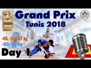 Judo Grand-Prix Tunis 2018: Day 1