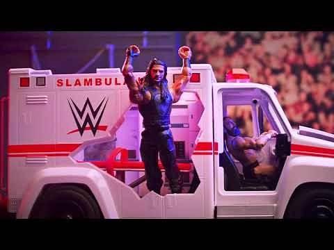 WWE Wrekkin' Slambulance Vehicle   Mattel