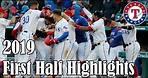 Texas Rangers: 2019 First Half Highlights [No Music]