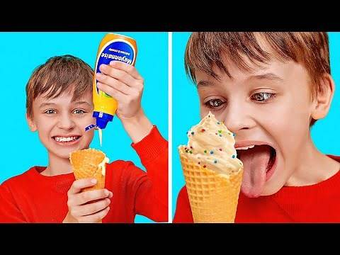 FUNNY FOOD PRANKS ON FRIENDS || April Fools' Day For Kids by 123GO! Play