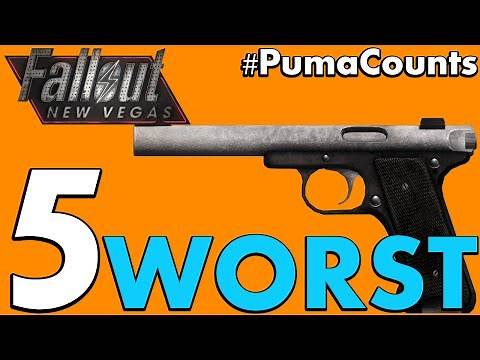 Top 5 Worst Guns and Weapons in Fallout: New Vegas #PumaCounts