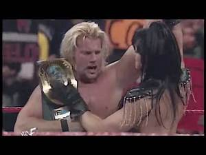 Chyna helps Jericho defeat Hardcore Holly | WWE Raw Jan. 24, 2000