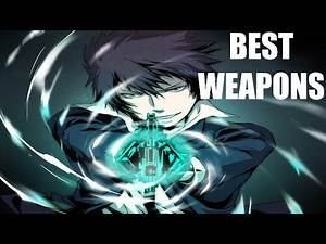 Best Type of Weapons in Anime