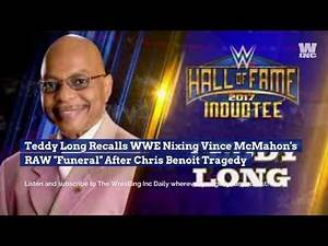 """Teddy Long Recalls WWE Nixing Vince McMahon's RAW """"Funeral"""" After Chris Benoit Tragedy"""