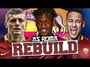 REBUILDING AS ROMA!!! FIFA 17 Career Mode