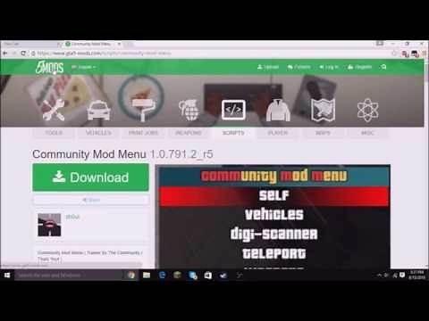 How To Install GTA 5 PC Mods/Mod Menus 2016