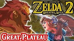 The Great Plateau in Zelda Breath of the Wild 2