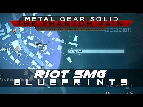 MGSV: The Phantom Pain Riot SMG Weapon Blueprint Location Guide