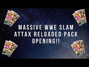 WWE Slam Attax Reloaded Massive Starter Pack Opening!! RARE CARDS GALORE!!