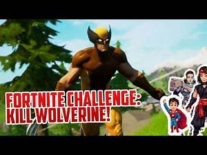 Fortnite: WHY CAN'T WE KILL WOLVERINE