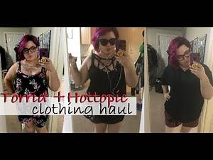 Torrid & Hot Topic Summer Clothing Haul!