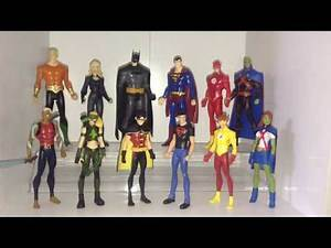 My YOUNG JUSTICE Action Figure Collection