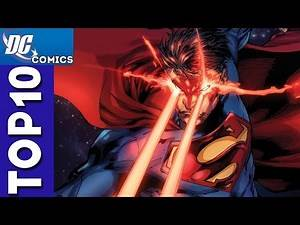 Top 10 Superman Fights From Justice League