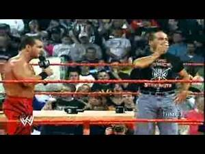 Chris Benoit vs Shawn Michaels vs Triple h. Promo