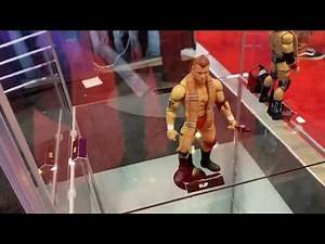 Debuting AEW action figures at C2E2