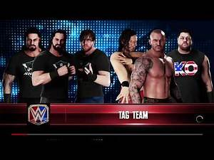 WWE 2K18 Rollins,Reigns,Ambrose VS Orton,Nakamura,Owens Requested 6-Man Elimination Tag Match