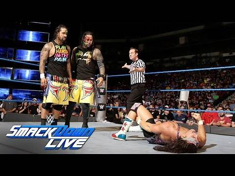 American Alpha vs. The Usos - SmackDown Tag Team Tournament Match: SmackDown LIVE, Sept. 6, 2016