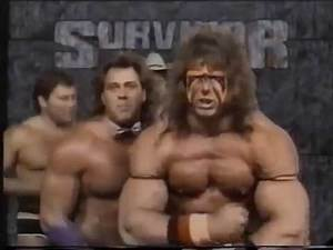 Ultimate Warrior Survivor Series Team Promo (11-12-1988)