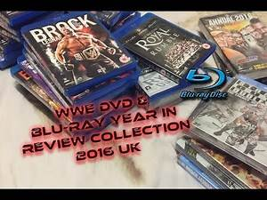 WWE DVD & Blu-ray Year In Review Collection 2016 UK