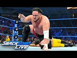 R-Truth & Rey Mysterio vs. Samoa Joe & Andrade: SmackDown LIVE, March 12, 2019